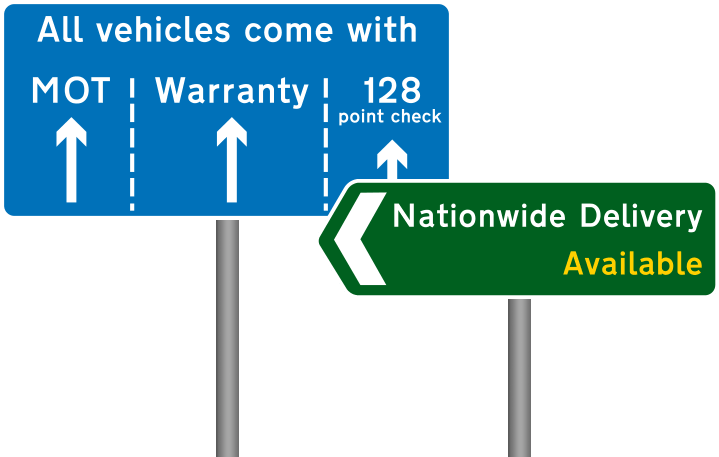 Mot Warranty and nationwide delivery available image