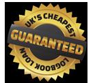 Great Britain's Cheapest Logbook Loan Guaranteed Badge