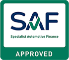 Specialist Automotive Finanance Approved Stamp